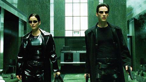 Matrix, Keanu Reeves Carrie Anne Moss