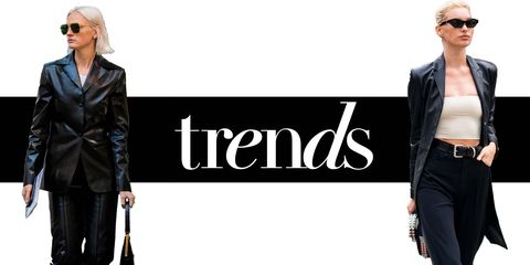 AW19 leather trend