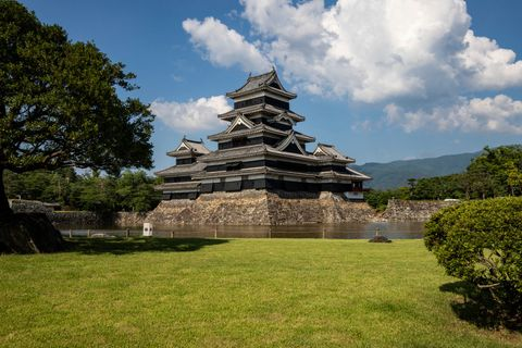 Matsumoto Castle is one of five castles designated as...