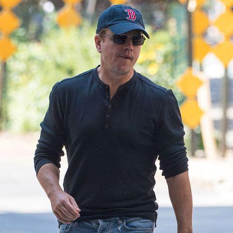 Matt Damon ejerce de padrazo de sus cuatro hijas.
