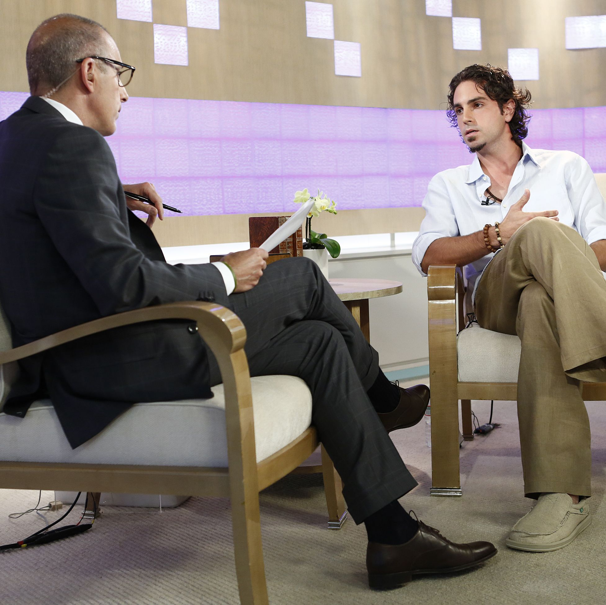 Robson tells Today host Matt Lauer about the abuse for the first time in 2013.