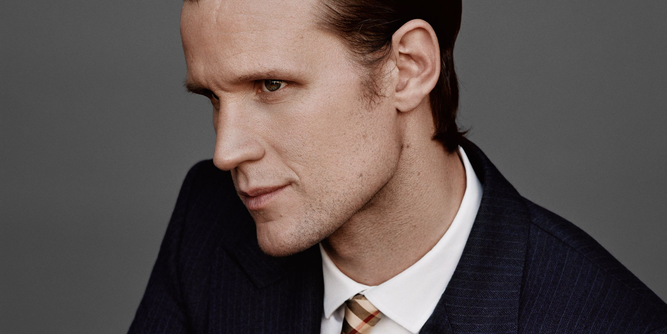 Matt Smith for Burberry