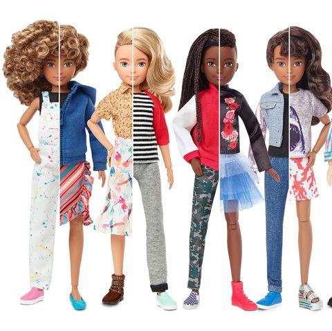 Mattel Gender Neutral Creatable World Doll Line