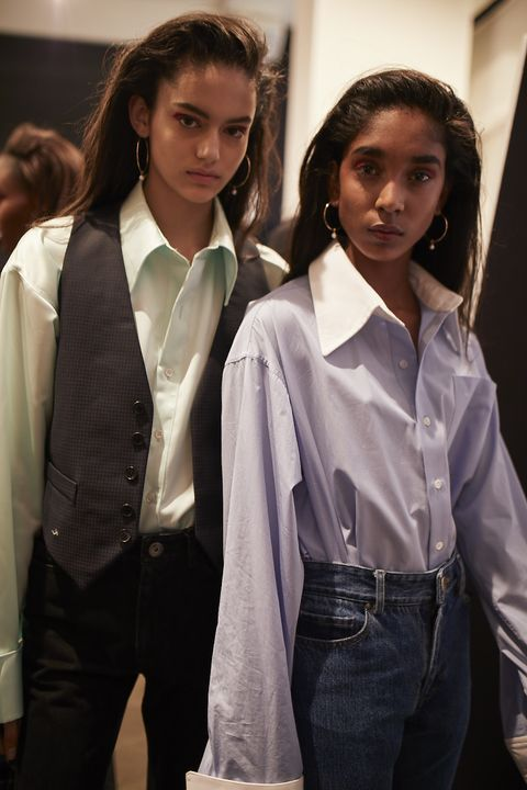 Backstage Matthew Adams Dolan Fall/Winter 2018