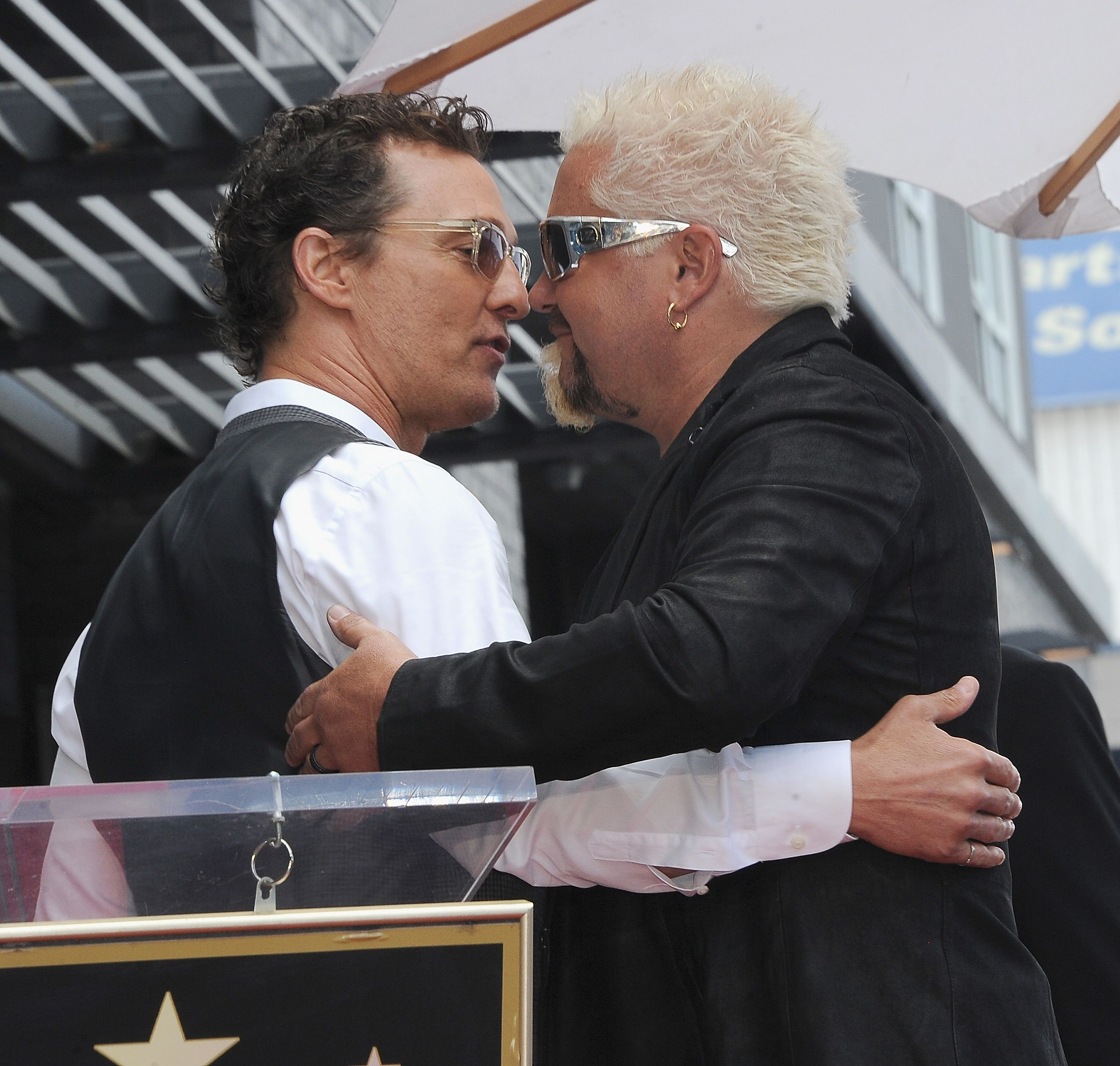 Guy Fieri, Matthew McConaughey's Friendship Explained - How ...