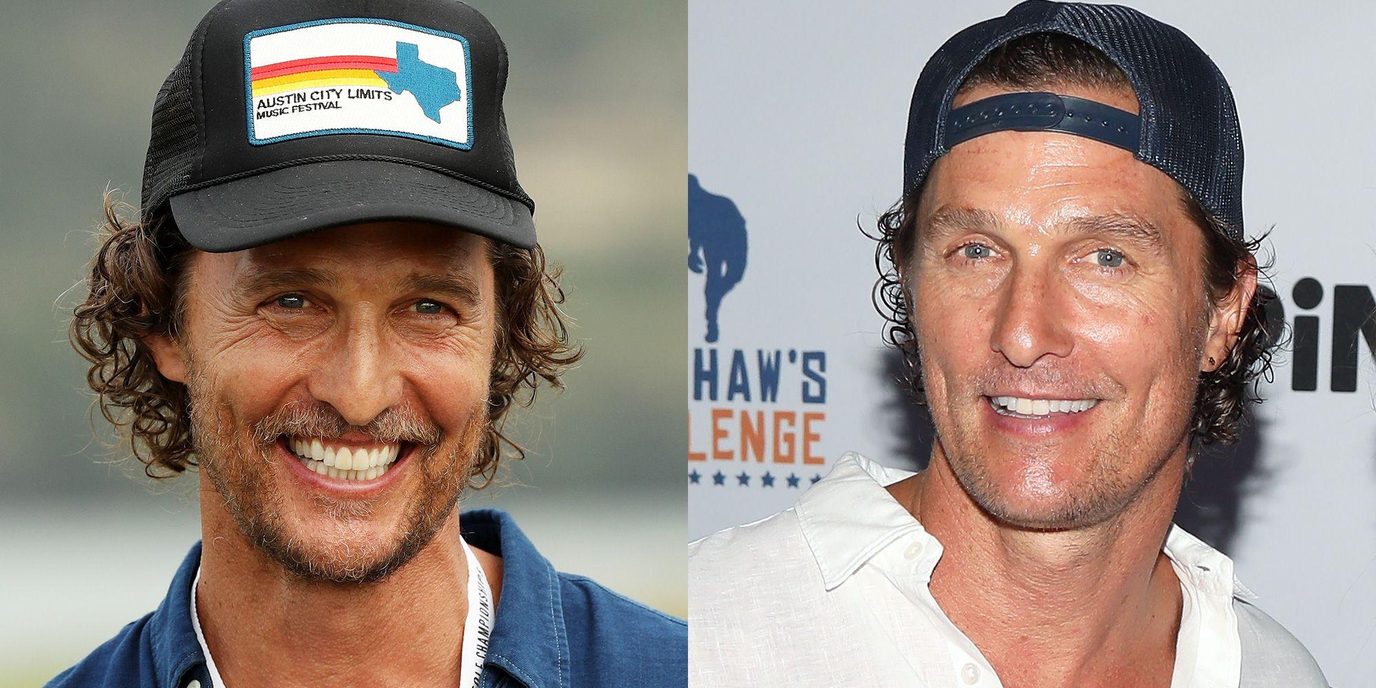5bac1d087539c ¿A favor o en contra de llevar la gorra para atrás  Veamos qué dice Matthew  McConaughey