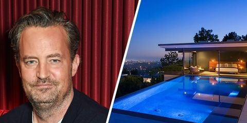 Matthew Perry Celebrity Homes