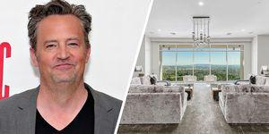 Matthew Perry el actor que hace de chandler en friends vende su apartamento en Los Ángeles