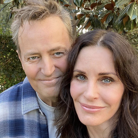 Courteney Cox and Matthew Perry reunite in Instagam selfie