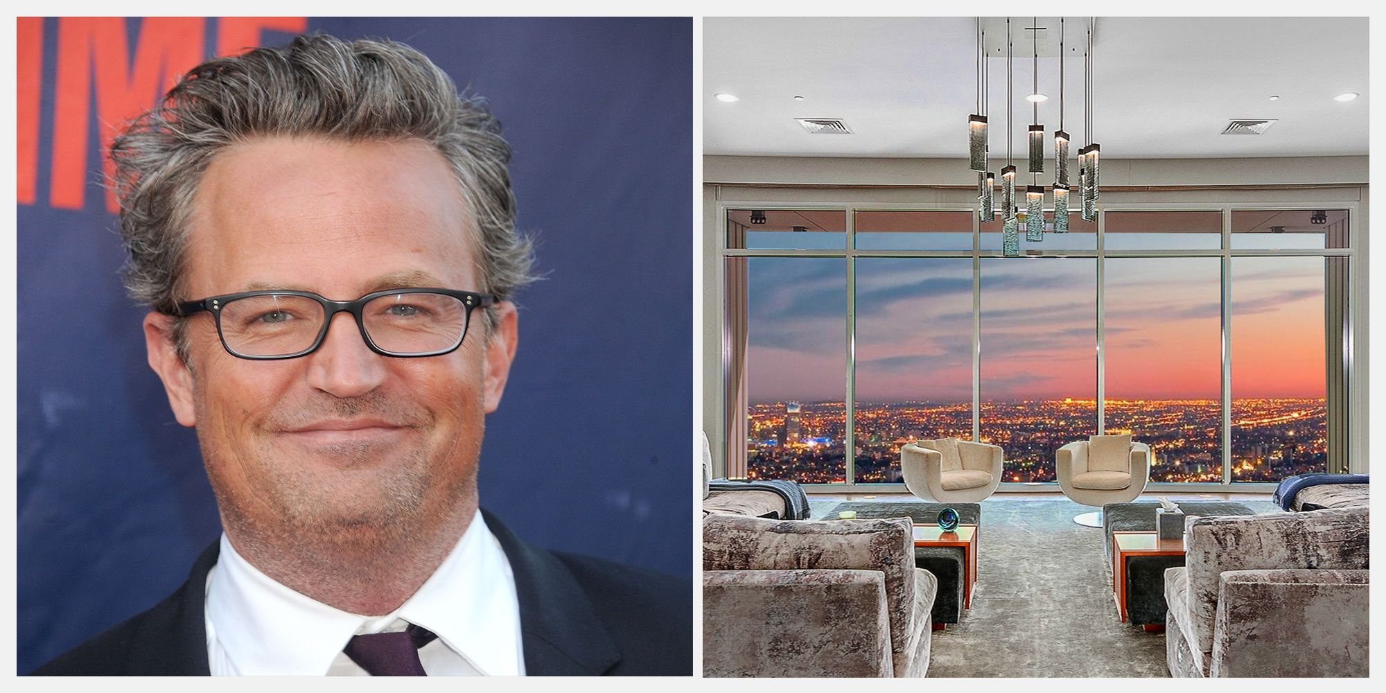 Matthew Perry's Gorgeous Los Angeles Penthouse is on Sale for $35 Million