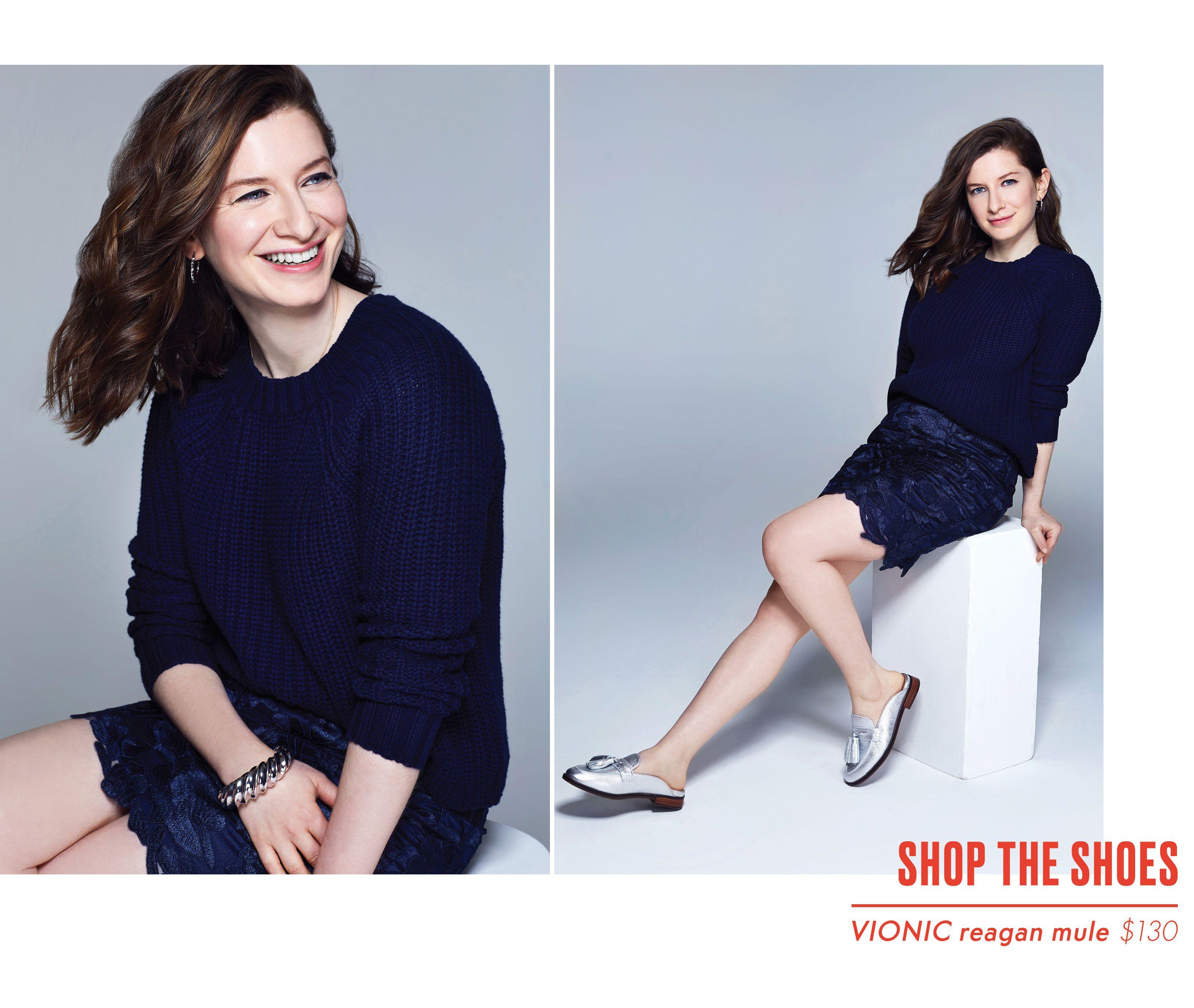 Mattie Kahn Editor Style - Vionic Shoes