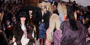 Matty Bovan Herfst/Winter 2020 op London Fashion Week