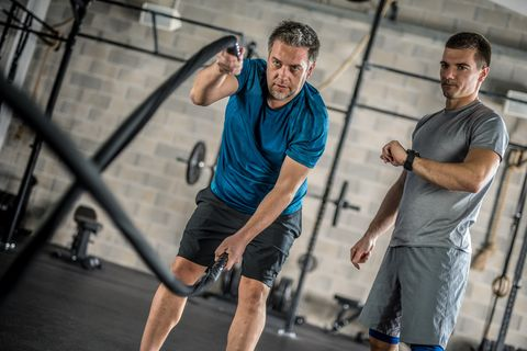 how men over 40 can make the most of workouts and build muscle