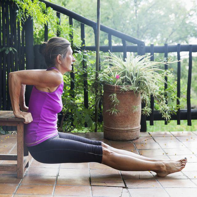 chair workout, women's health uk