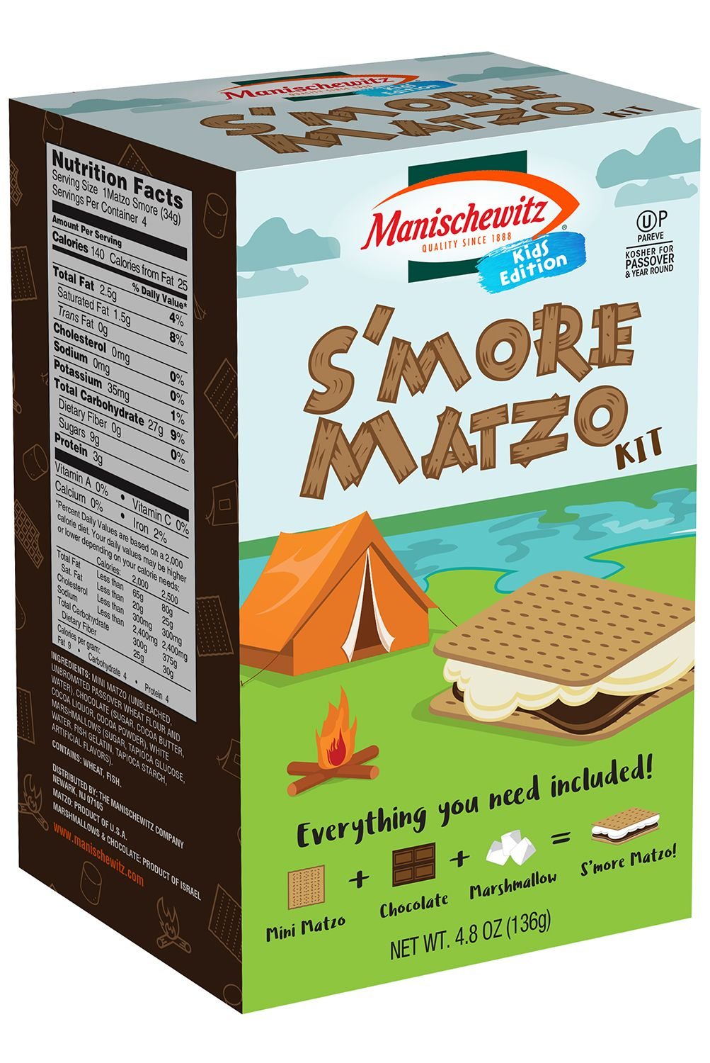 manishewitz smore kit