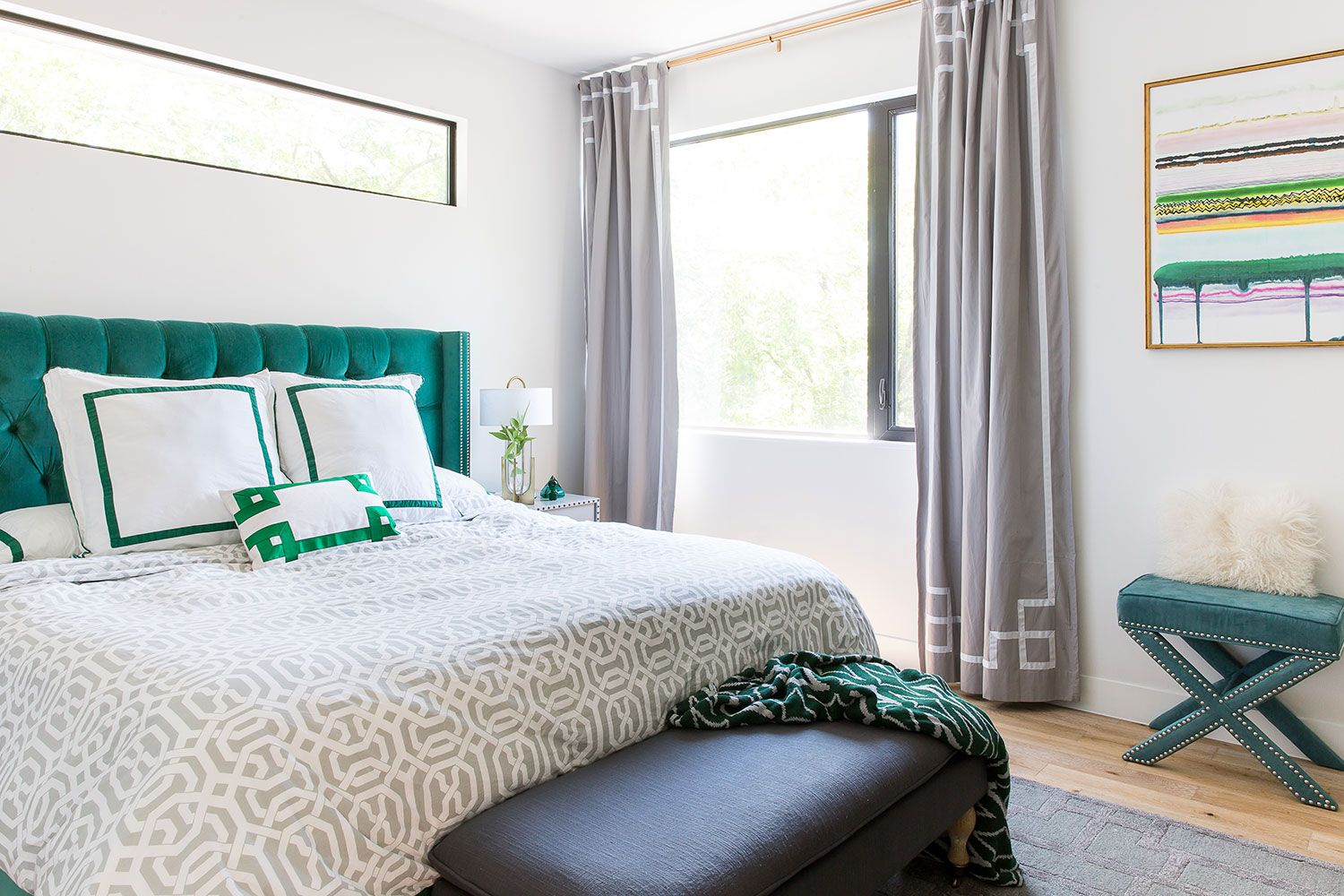 Superbe Green Bedrooms
