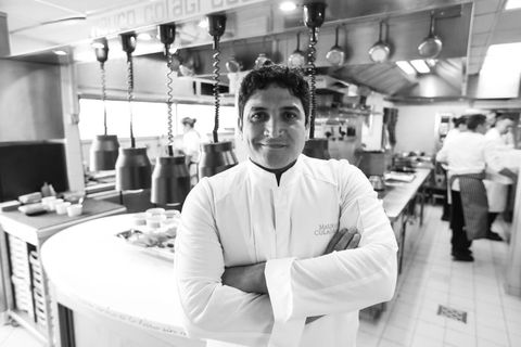 Cook, Chef, Room, Photography, Restaurant, Black-and-white, White-collar worker, Waiting staff, Cooking,