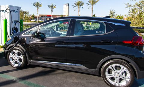 Maven Gets Its Own Charging Network for the Chevrolet Bolt