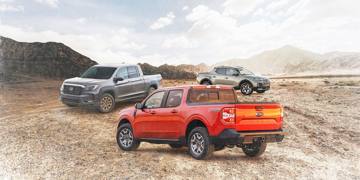 How the 2022 Ford Maverick Competes With Other Unibody Pickups