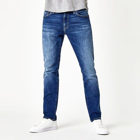 Mavi Zach Brushed Cashmere Straight Leg Jeans