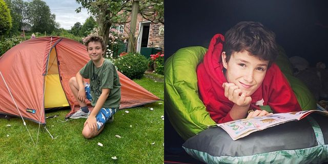 イギリス・デボン州に住む11歳のマックス・ウーシーくんは、昨年3月から家の裏庭でキャンプをスタート。1年以上もテントで寝続けているという彼のチャレンジの理由とは?