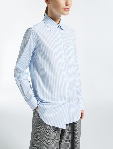 max mara, italia, camicia righe