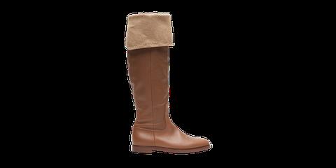 Footwear, Boot, Brown, Tan, Knee-high boot, Riding boot, Shoe, Beige, Durango boot, Suede,