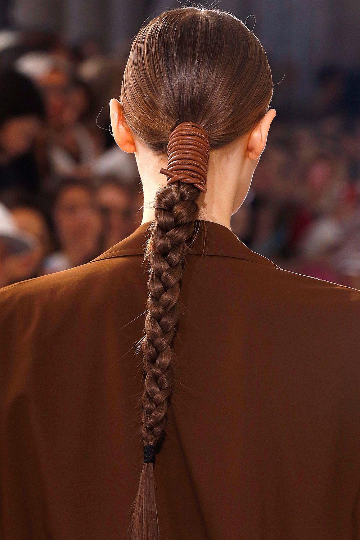 Max Mara spring/summer 2019 hair trend