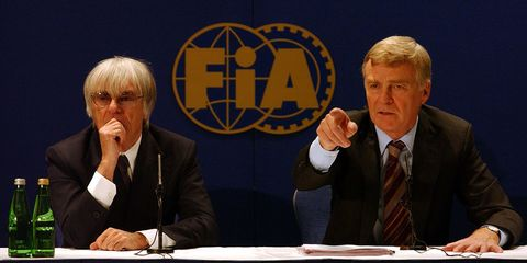 motor racing  formula one  regulation changes press conference