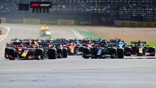 f1 grand prix of great britain sprint qualifying verstappen hamilton