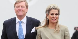 King Willem-Alexander and Queen Maxima of the Netherlands visit Ireland.
