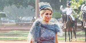 koningin máxima in new delhi