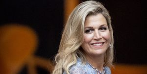 koningin-maxima-diner-paleis-noordeinde-jurkKing Willem-Alexander Of The Netherlands And Queen Maxima Host Gala Diner For Council At Noordeinde Palace