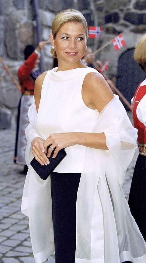 máxima witte top oslo noorwegen 2001
