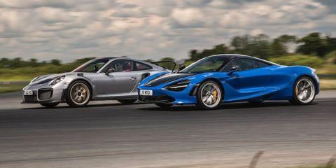 McLaren 720S vs Porsche 911 GT2 RS Drag Race: Place Your Bets