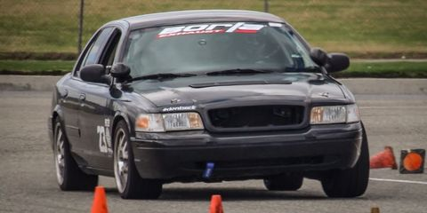 Yes, You Can Turn a Ford Crown Victoria Into a Track Machine