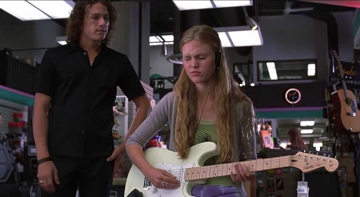 Julia Stiles in10 Things I Hate About You 1999