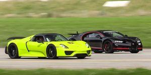 Drag race hypercars