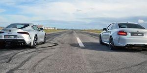 Toyota Supra vs BMW M2 Competition
