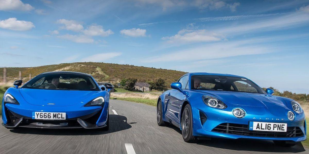 Off Road Design >> Alpine A110 vs. McLaren 570S - Best Mid-Engine Sports Cars for 2019