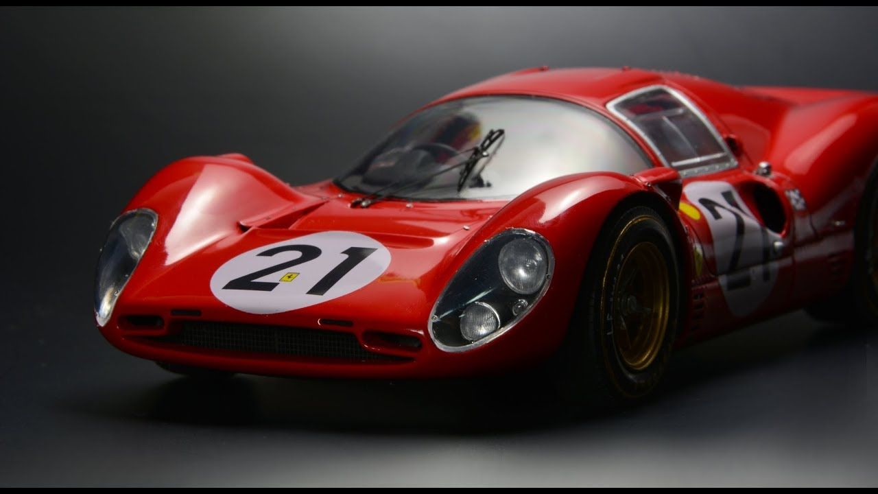 Watch This Guy Build a Painstakingly Accurate Ferrari 330 P4 Scale Model