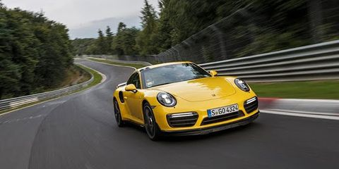 Watch A Porsche 911 Turbo S Tear Around The Nurburgring