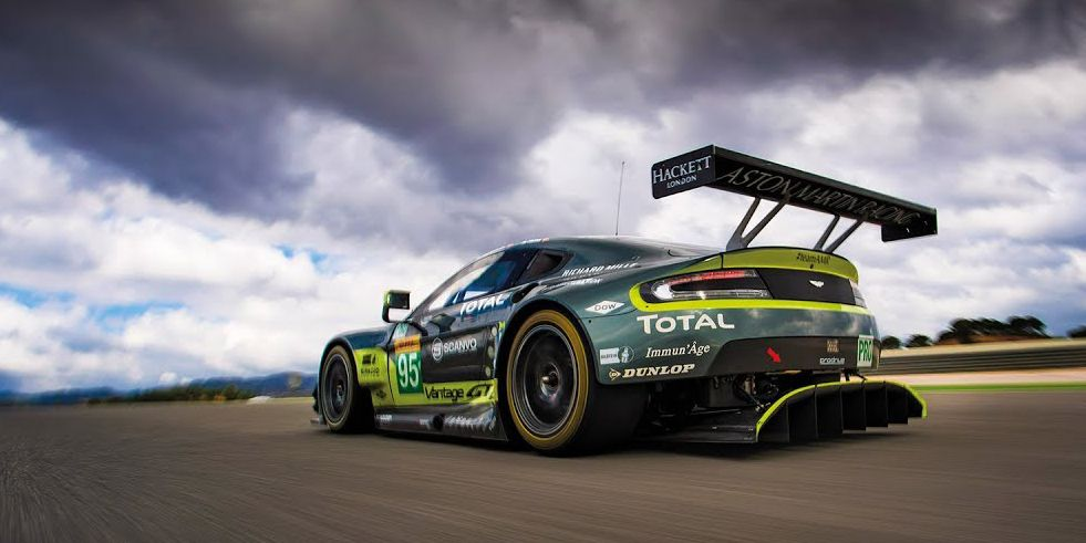 What It S Like To Drive An Aston Martin Vantage Gte Le Mans Race Car