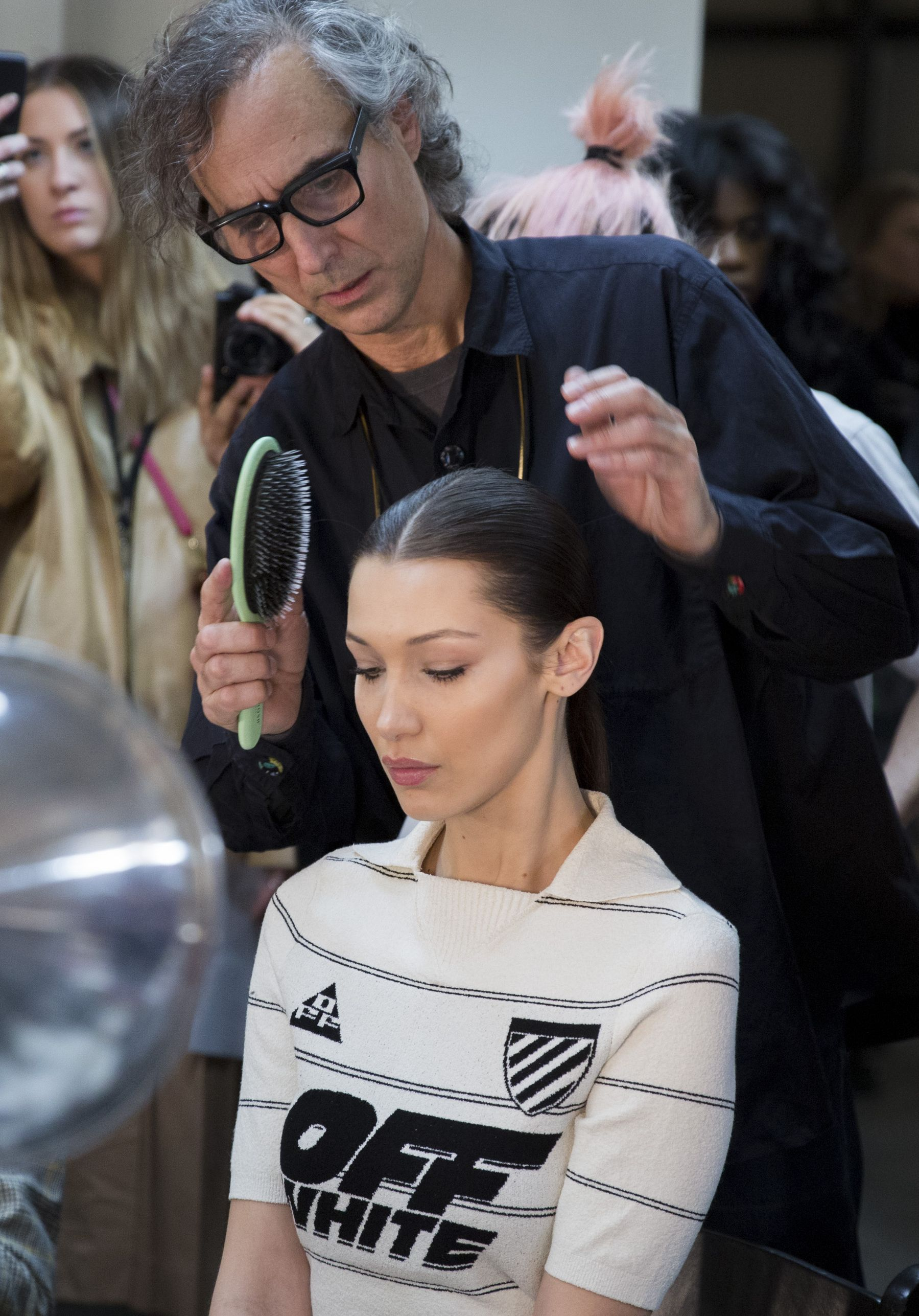 backstage at new york fashion week february 2019