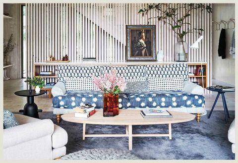 maxweel ryan block print sofa