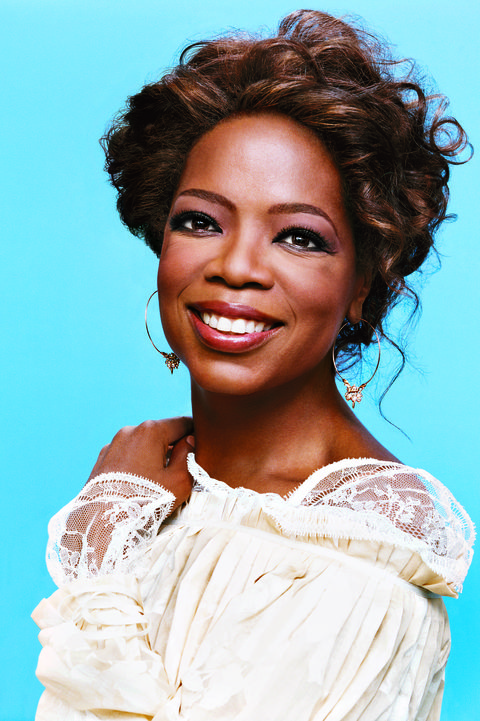 Oprah on the cover of Oprah Magazine May 2007