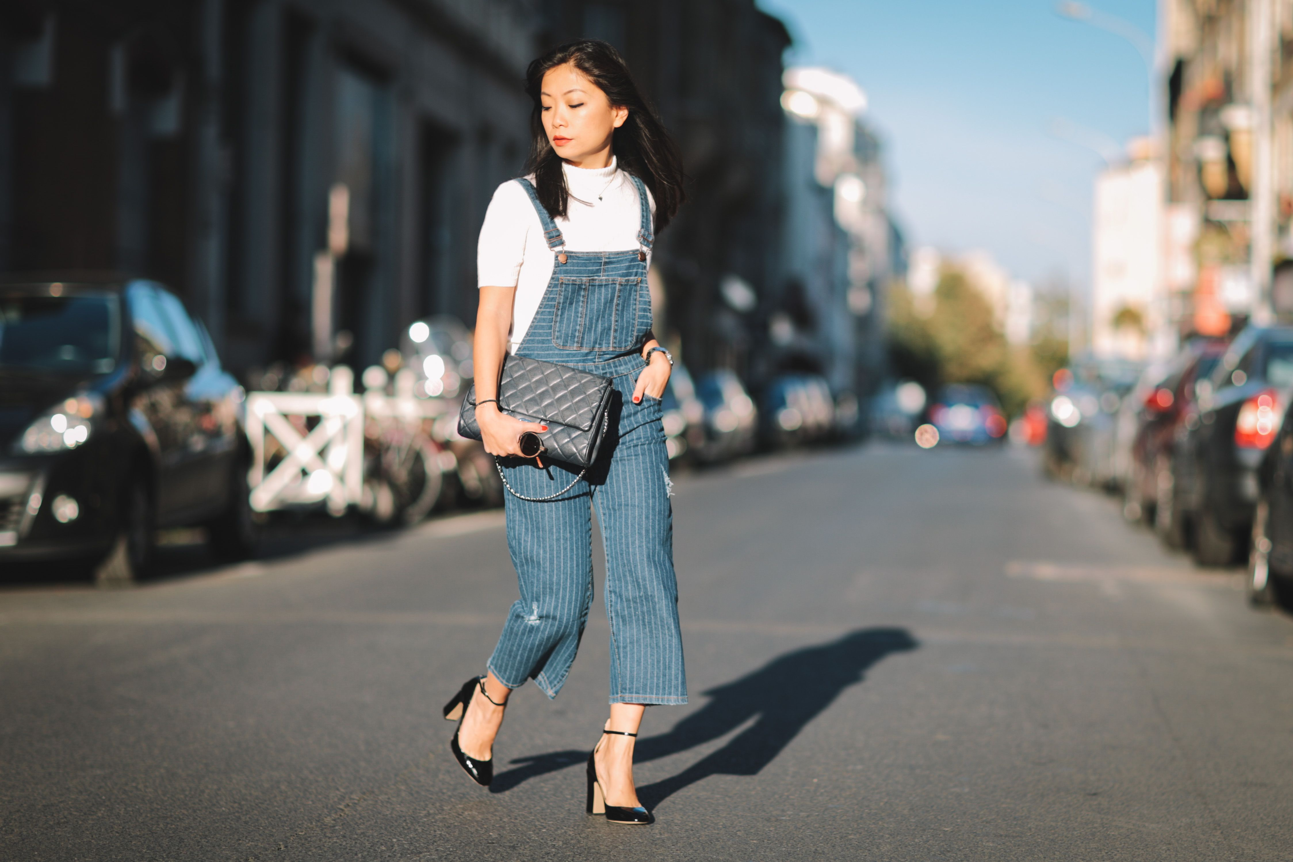 How to Wear Your Denim Overalls 6 Different Ways