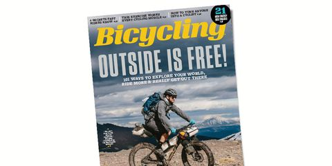 Bicycling May Issue Cover