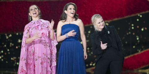 Maya Rudolph, Tina Fey y Amy Poehler