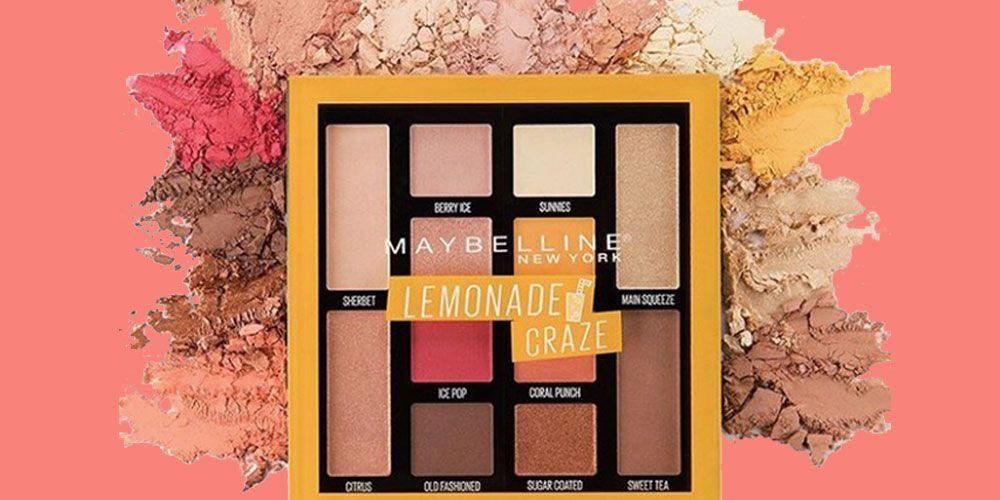 Maybelline Lemonade eyeshadow palette